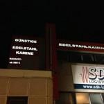 BS-LINE Halle Saale Beschriftung