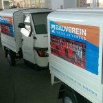 Fahrzeugbeschriftung_1_Bauverein_APE_BS-LINE Halle Leipzig