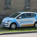 Fahrzeugbeschriftung_1_Bauverein_VW_BS-LINE Halle Leipzig