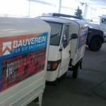 Fahrzeugbeschriftung_2_Bauverein_APE_BS-LINE Halle Leipzig
