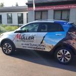 Fahrzeugbeschriftung_Suzuki_Mueller_1_BS-LINE Halle Leipzig