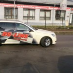 Folierung Mercedes Taxi_1_ BS-LINE Halle Leipzig